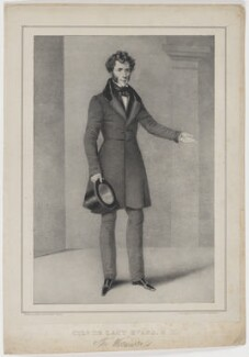 Sir George de Lacy Evans, by M. O'Connor, printed by  W. Clerk, published by  J.O. Clerk, 1833 or after - NPG D36589 - © National Portrait Gallery, London