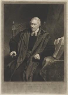 Edmund Isham, by and published by Samuel William Reynolds, after  William Owen, published 10 December 1818 - NPG D36459 - © National Portrait Gallery, London