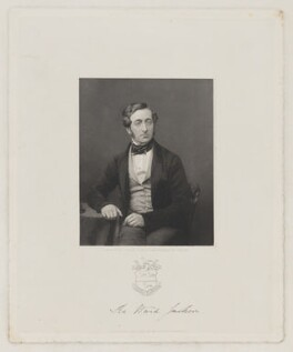 Ralph Ward Jackson, by Joseph Brown, published by  William Fordyce, after  Antoine Claudet - NPG D36461