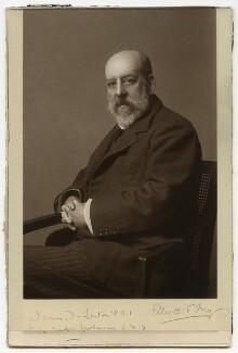 Sir James Dromgole Linton, by Elliott & Fry - NPG x12424