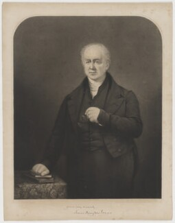 James Harington Evans, by Charles Wentworth Wass, after  George Lance - NPG D36594