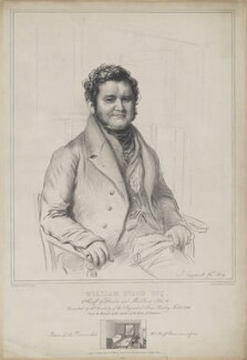 William Evans, by (Isaac) Weld Taylor, printed by  Jérémie Graf, published by  Thomas Boys, after  John Linnell, published 6 March 1840 - NPG D36596 - © National Portrait Gallery, London