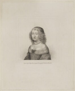 Mary Evelyn (née Browne), by Henry Meyer, after  Robert Nanteuil - NPG D36599