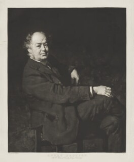 Henry Jackson, by William Strang, after  Charles Wellington Furse, before 1921 (1889) - NPG D36472 - © National Portrait Gallery, London