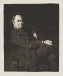 Henry Jackson, by William Strang, after  Charles Wellington Furse - NPG D36472
