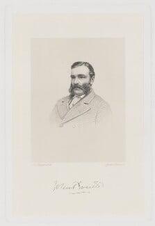 John Everett, by Joseph Brown, after  John Jabez Edwin Mayall, published late 19th century - NPG D36608 - © National Portrait Gallery, London