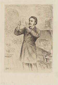 James Cossar Ewart, by William Brassey Hole - NPG D36610