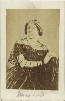 Jenny Lind, probably after William Edward Kilburn, 1860s (1848) - NPG x20048 - © National Portrait Gallery, London