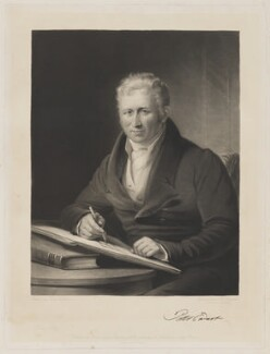 Peter Ewart, by Samuel William Reynolds, printed by  Brooker & Harrison, published by  Thomas Agnew, after  James Lonsdale - NPG D36611