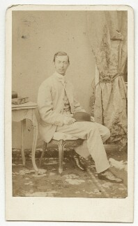 Nicholas Alexandrovich, Tsarevich of Russia, by Franz Backofen - NPG x131664