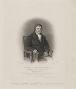 John Angell James, by Robert Cooper, published by and after  William Derby - NPG D36478