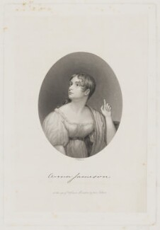 Anna Brownell Jameson (née Murphy), by Henry Adlard, after  Denis Brownell Murphy - NPG D36483