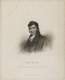 William Jay, by Thomas Overton, published by and after  T. Langdon - NPG D36487