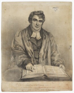 William Jay, by William Day Sr, published by  Rowney & Forster, after  William Henry Hutchisson - NPG D36488