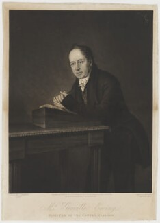 Greville Ewing, by Henry Edward Dawe, published by  Maurice Ogle, and published by  G. Gallie, and published by  B.J. Holdsworth, after  John Campbell - NPG D36616
