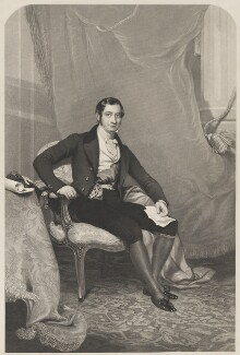 Brownlow Cecil, 2nd Marquess of Exeter, after James Sant - NPG D36622