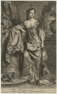 Alice (née Sherrard), Lady Brownlow, by John Smith, published by  Edward Cooper, after  Willem Wissing, 1685 (1685) - NPG D36623 - © National Portrait Gallery, London