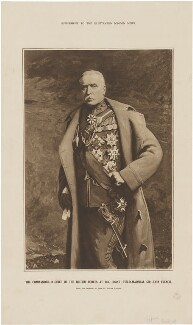 John Denton Pinkstone French, 1st Earl of Ypres, supplement to Illustrated London News, after  John St Helier Lander, after 1908 - NPG D36275 - © National Portrait Gallery, London