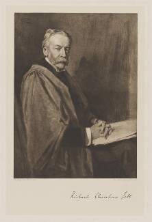 Sir Richard Claverhouse Jebb, by Swan Electric Engraving Co., after  Sir George Reid - NPG D36491