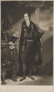 Lawrence Dundas, 1st Earl of Zetland, by William Ward, after  John Jackson - NPG D36277