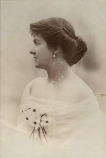 Pamela Grey (née Wyndham, later Lady Glenconner), Viscountess Grey of Fallodon, by Unknown photographer - NPG x132864