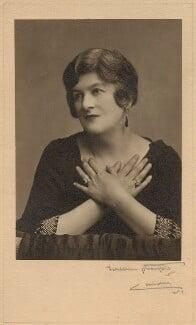 Pamela Grey (née Wyndham, later Lady Glenconner), Viscountess Grey of Fallodon, by Foulsham & Banfield - NPG x132868