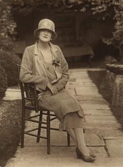 Pamela Grey (née Wyndham, later Lady Glenconner), Viscountess Grey of Fallodon, by Unknown photographer - NPG x132870