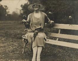 Pamela Grey (née Wyndham, later Lady Glenconner), Viscountess Grey of Fallodon, by Unknown photographer - NPG x132871
