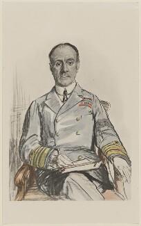 John Rushworth Jellicoe, 1st Earl Jellicoe, after Francis Dodd, 1917 (1917) - NPG D36500 - © estate of Francis Dodd