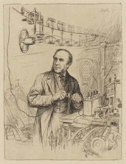 (Henry Charles) Fleeming Jenkin, by William Brassey Hole - NPG D36502