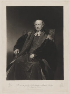 Richard Jenkyns, by Thomas Goff Lupton, published by  James Wyatt & Son, after  Henry Perronet Briggs, published 1 January 1842 (exhibited 1841) - NPG D36503 - © National Portrait Gallery, London