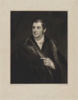 George Child-Villiers, 5th Earl of Jersey, by Samuel Cousins, after  Thomas Phillips, published 1836 - NPG D36510 - © National Portrait Gallery, London