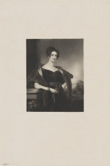 Sophia Jane Dundas (née Williamson), Countess of Zetland, by John Cochran, after  Henry Perronet Briggs, 1820s-1830s - NPG D36279 - © National Portrait Gallery, London