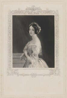 Frances Elizabeth Jocelyn (née Cowper), Viscountess Jocelyn, by William Henry Mote, after  Charles Robert Leslie - NPG D36524