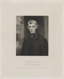 John Bavin ('College John'), by James Thomson (Thompson), after  John Hayes - NPG D36525