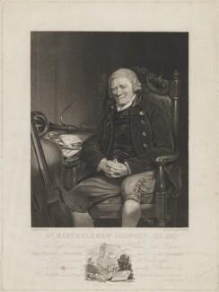Bartholomew Johnson, by Henry Meyer, published by  John Bird, published by and after  John Jackson - NPG D36528