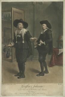 Benjamin Griffin as Tribulation; Benjamin ('Ben') Johnson as Ananias in Ben Jonson's 'The Alchemist' Act III, Scene 2, by Peter van Bleeck - NPG D36529