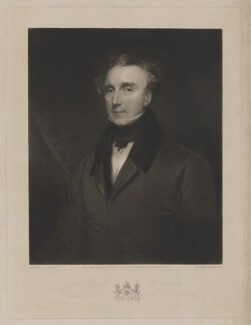 Edward Boscawen, 1st Earl of Falmouth, by John Porter, published by  Colnaghi and Puckle, after  Henry Perronet Briggs, published 8 November 1842 - NPG D36641 - © National Portrait Gallery, London