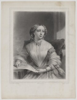Miss Blanche Fane as The Little Treasure, by Alphonse Léon Noël, printed by  Lemercier, published by  Henry Graves & Co, after  James Edgell Collins, published 1856 - NPG D36643 - © National Portrait Gallery, London