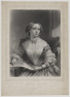 Miss Blanche Fane as The Little Treasure, by Alphonse Léon Noël, printed by  Lemercier, published by  Henry Graves & Co, after  James Edgell Collins, published 1856 - NPG D36645 - © National Portrait Gallery, London