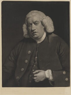 Samuel Johnson, by William Doughty, after  Sir Joshua Reynolds, published late 18th century (1772-1778) - NPG D36534 - © National Portrait Gallery, London