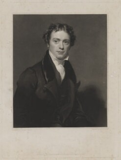 Michael Faraday, by Samuel Cousins, published by  Paul and Dominic Colnaghi & Co, after  Henry William Pickersgill - NPG D36649