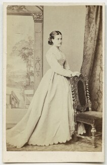 Unknown woman formerly called Adelina Patti, by Gush & Ferguson, 1860s - NPG x45336 - © National Portrait Gallery, London
