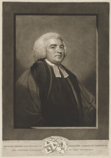 Richard Farmer, by and published by John Jones, after  George Romney - NPG D36654