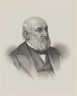 William Farr, by Unknown artist - NPG D36661