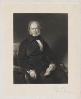 W.R. Johnson, by Thomas Lewis Atkinson, printed by  W. Hallom, published by  Thomas Agnew & Sons Ltd, after  George Patten - NPG D36544