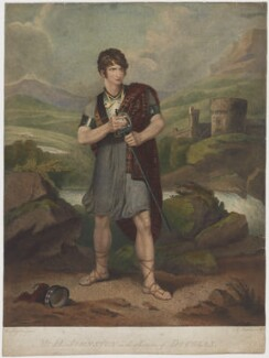 Henry Erskine Johnston in the Character of Douglas, by Edward Mitchell, after  Henry Singleton - NPG D36709