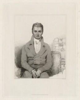 David Jones, by Charles Picart, published by  Colnaghi, Son & Co, after  Eliza Jones - NPG D36711
