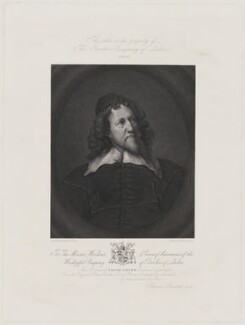 Inigo Jones, by Thomas Sherratt, after  Sir Anthony van Dyck - NPG D36712