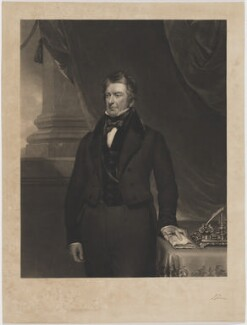 J. Jones, by George Raphael Ward, after  Thomas Brigstocke - NPG D36716